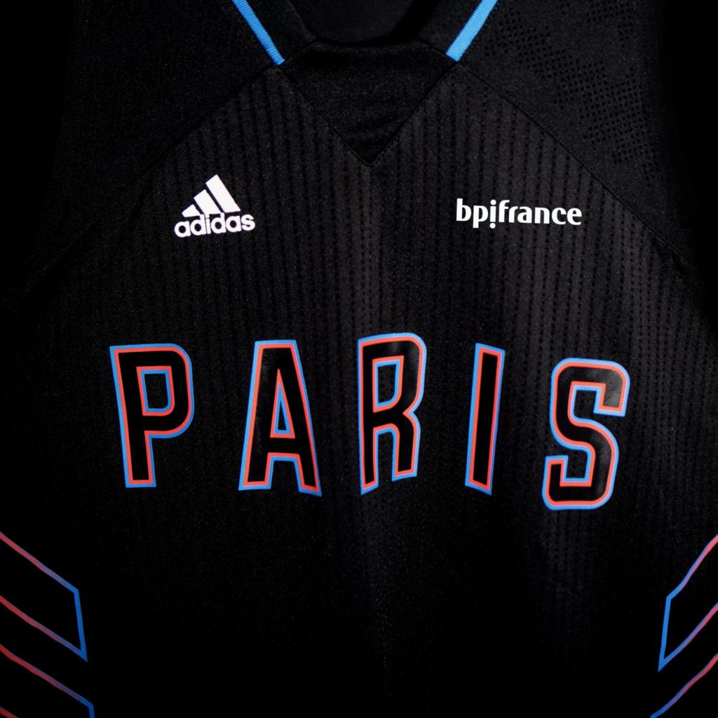 maillot extérieur paris basketball adidas 2021 2022