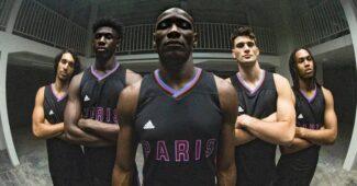 Image de l'article Nouveaux maillots du Paris Basketball x adidas : «Eux ils parlent, nous on joue»