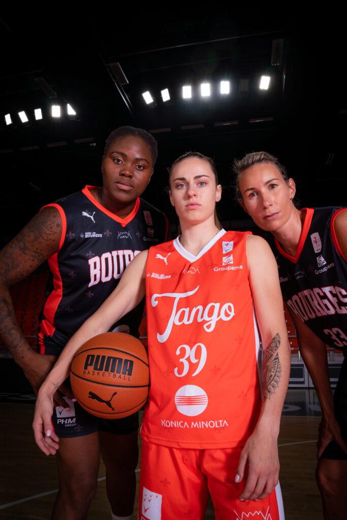 nouveau maillot tango bourges basket avec puma